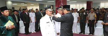 Pelantikan Wali Kota dan Wakil Kota Tarakan Periode 2019-2024