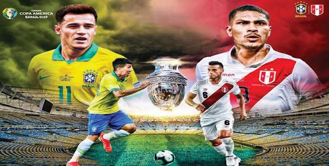 موعد نقل Peru vs Brazil مباراة البرازيل وبيرو اليوم الاحد 07/7/2019 كورة رابط بدون تقطيع
