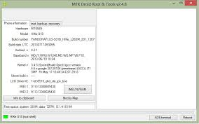 MTK Droid Tool Windows