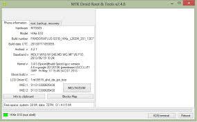 MTK Droid Tool Windows