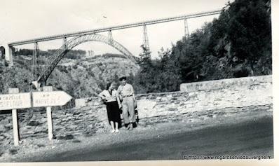 Photo de famille NB panneaux de villes : Viaduc de Garabit