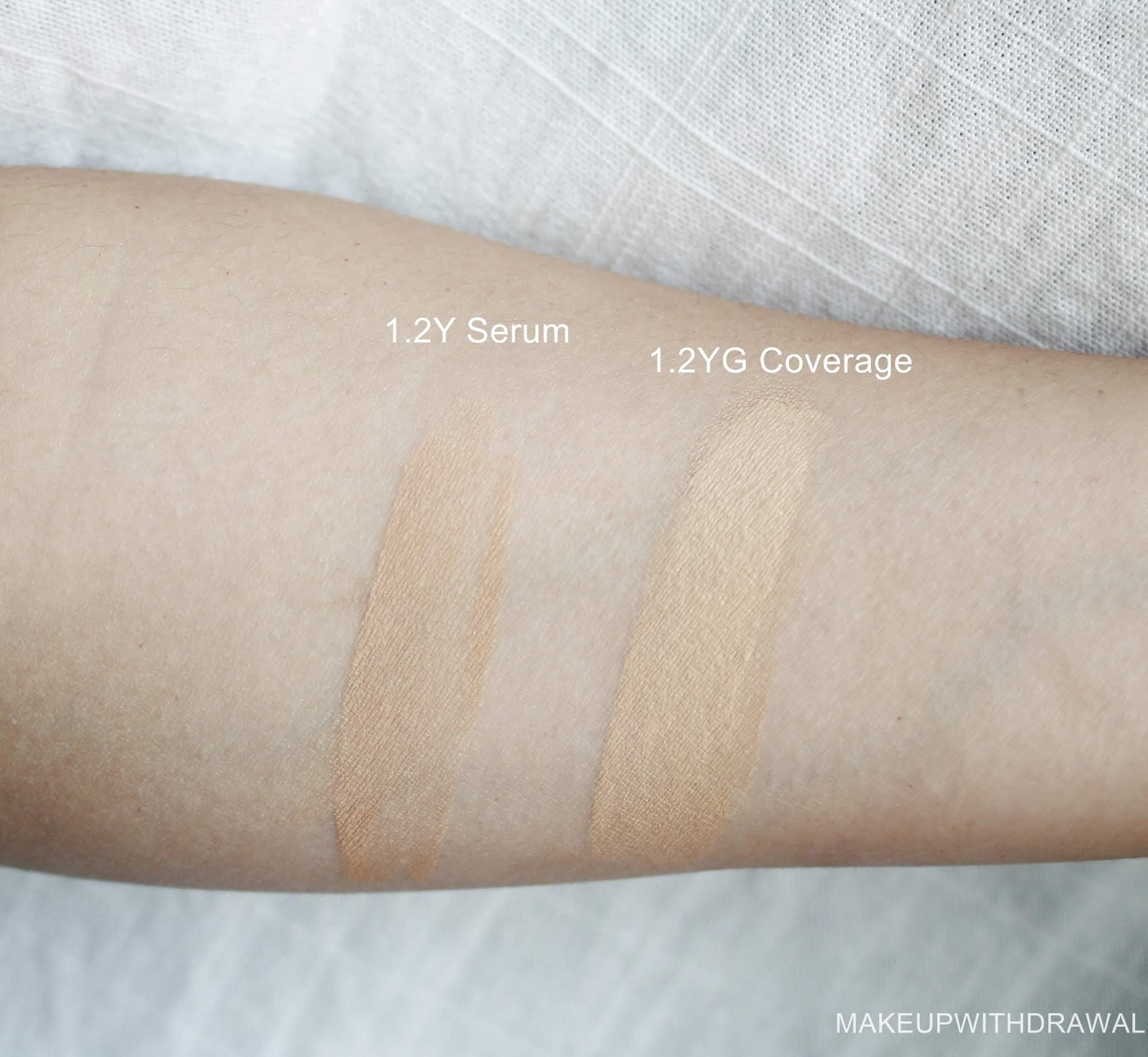 The Ordinary Serum Coverage Foundations Makeup Withdrawal