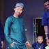 More hilarious photos as Tonto Dikeh dressed as a man to son's school