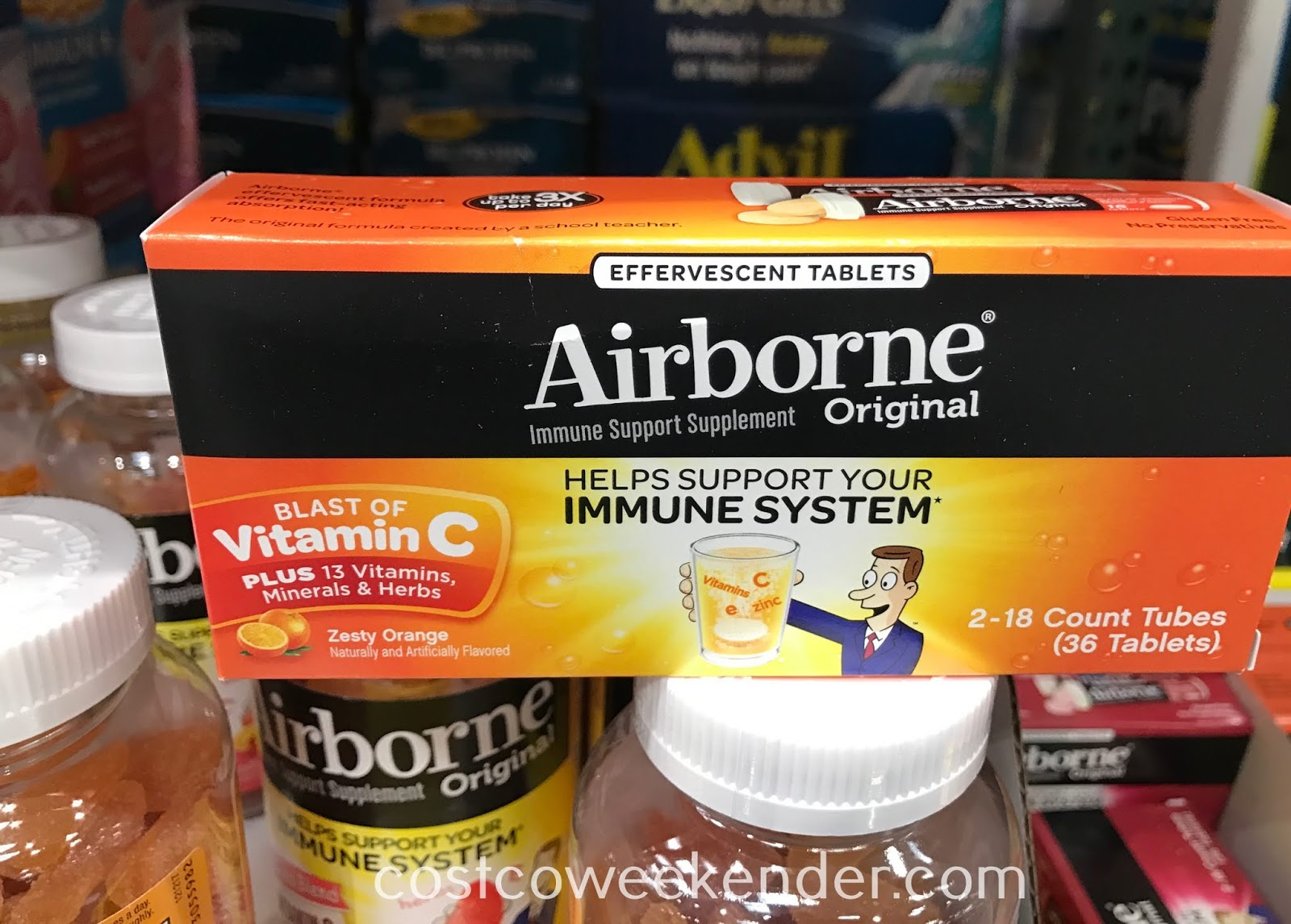 Ward off that cough and don't get sick with Airborne