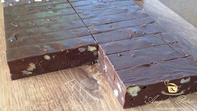 Baton de ciocolata cu nuca - etapa 9