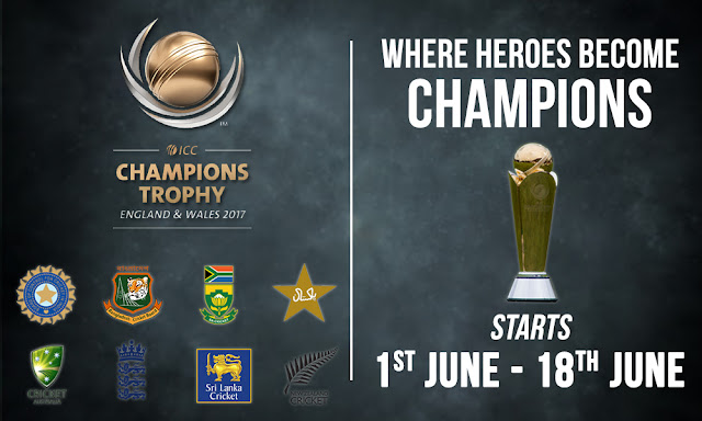 ICC Champions Trophy 2017 Tickets Online