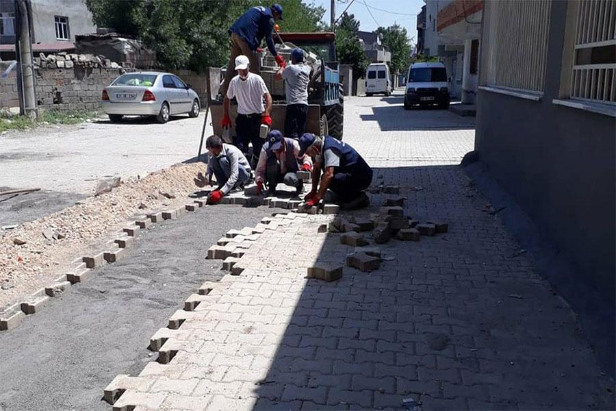 Diyarbakır Bağlar Belediyesi kırsal bölgelere yeni yollar kazandırıyor