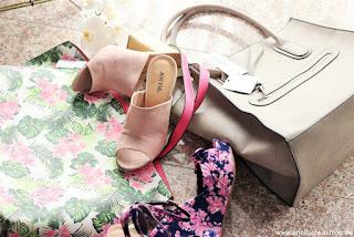 Fashion: Justfab Sommerschuhe und Shopper - www.annitschkasblog,de