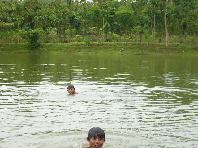 Keindahan Panorama Alam Air Terjun Tadah Udan Curug Tadah Udan, Pati Jawa Tengah