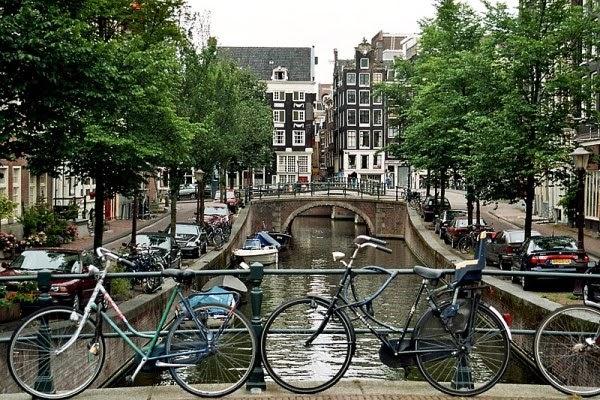 Kanal Blauwburgwal, Amsterdam