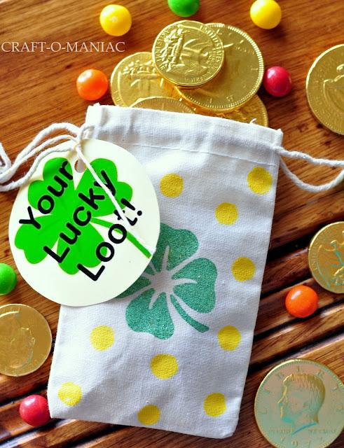 St. Patrick's Day Treat Bags www.craft-o-maniac.com