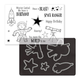 space, Birthday, star, rocket, #CTMHStargazer, stargazer, spaceship, astronaut, PML, While stocks last, WSL, thin cuts, Vandra, #CTMHVandra, blog hop,