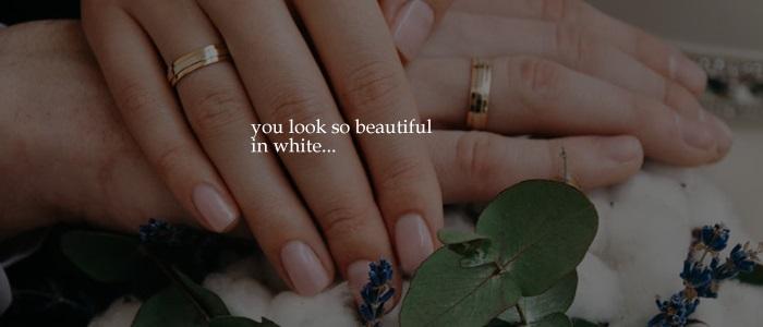 [Lyric] Beautiful in White
