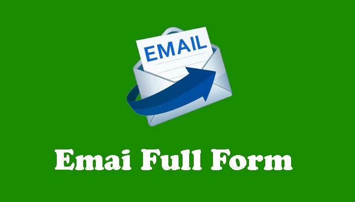 Email Full Form in Hindi - ईमेल क्या है?