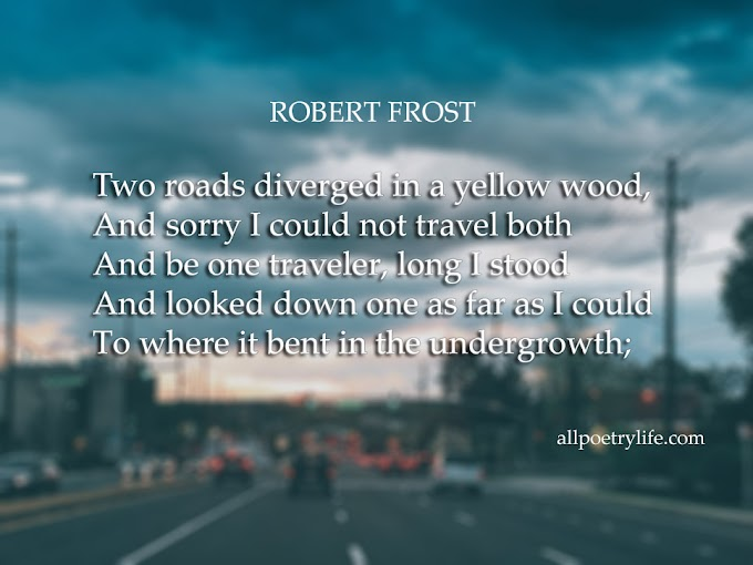 The road not taken by robert frost poem summary | English Poetry picture