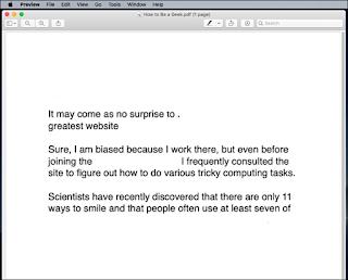 نتائج طباعة PDF في macOS