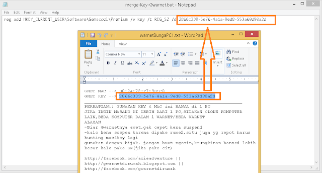 tutorial cara install key gwarnet gold