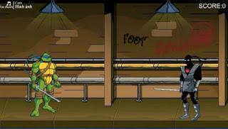 Game ninja rùa cực hấp dẫn