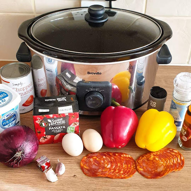 Slow Cooker Shakshuka Recipe slimming world breakfast recipe