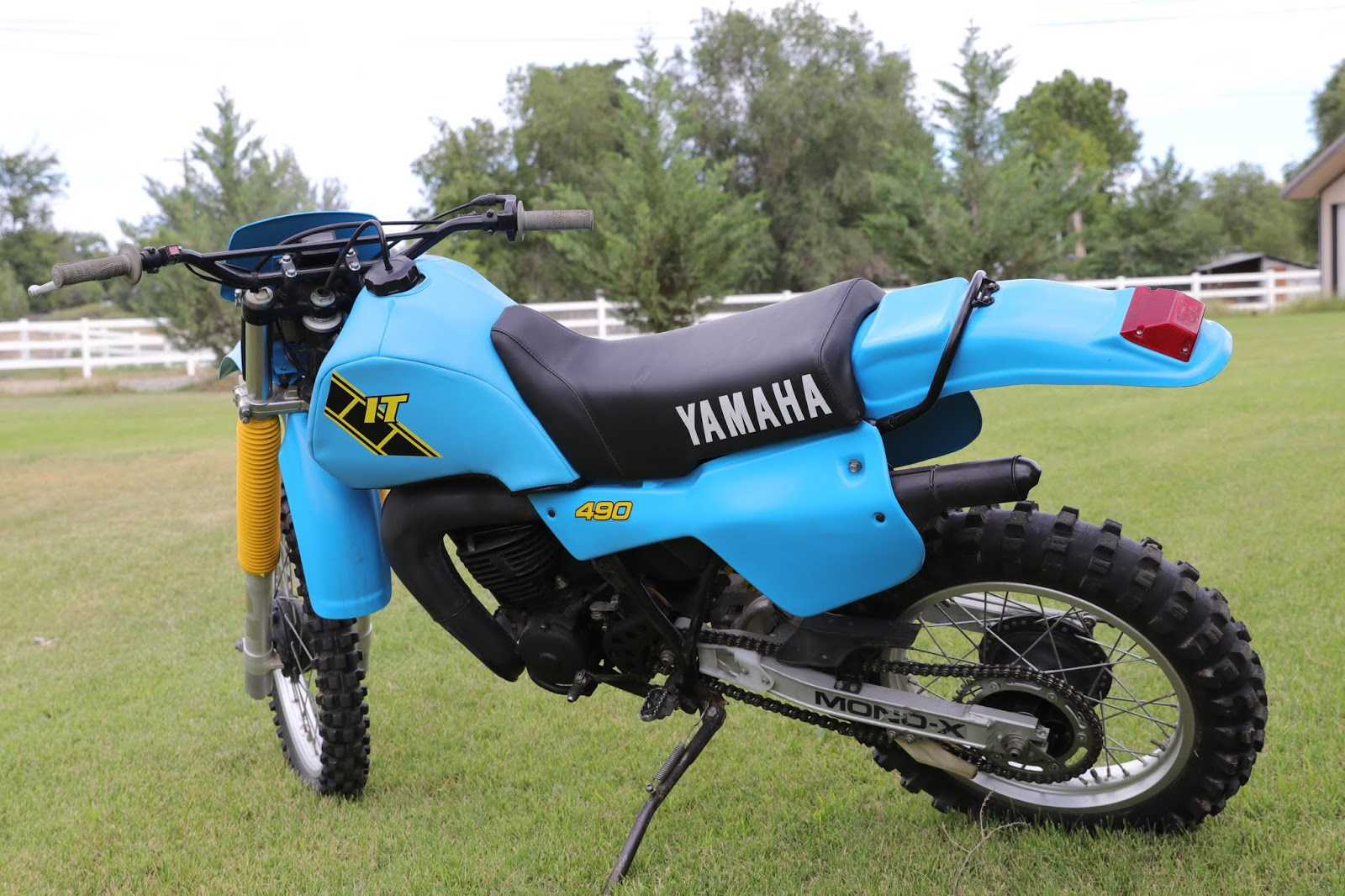 1983 Yamaha IT 490 From My Personal Collection