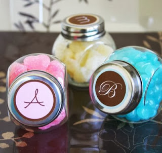 Personalized Baby Shower Candy Jar Favor