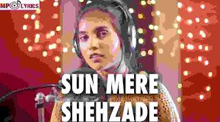 Sun Meri Shehzadi (Female Version) Lyrics – AiSh