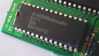 Nintendo DSP-1 chip was the most widely used of all the SNES DSPs