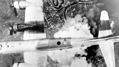 la imagen corresponde al dron secreto que mató al hermano mayor de Kennedy