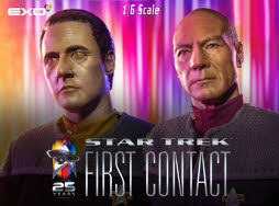 EXO-6 Star Trek First Contact 1/6 scale articulated figures - Entertainment Earth