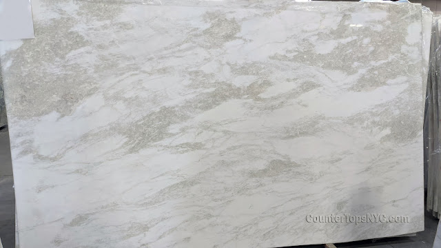 Mystery White 3CM Marble Slabs NYC