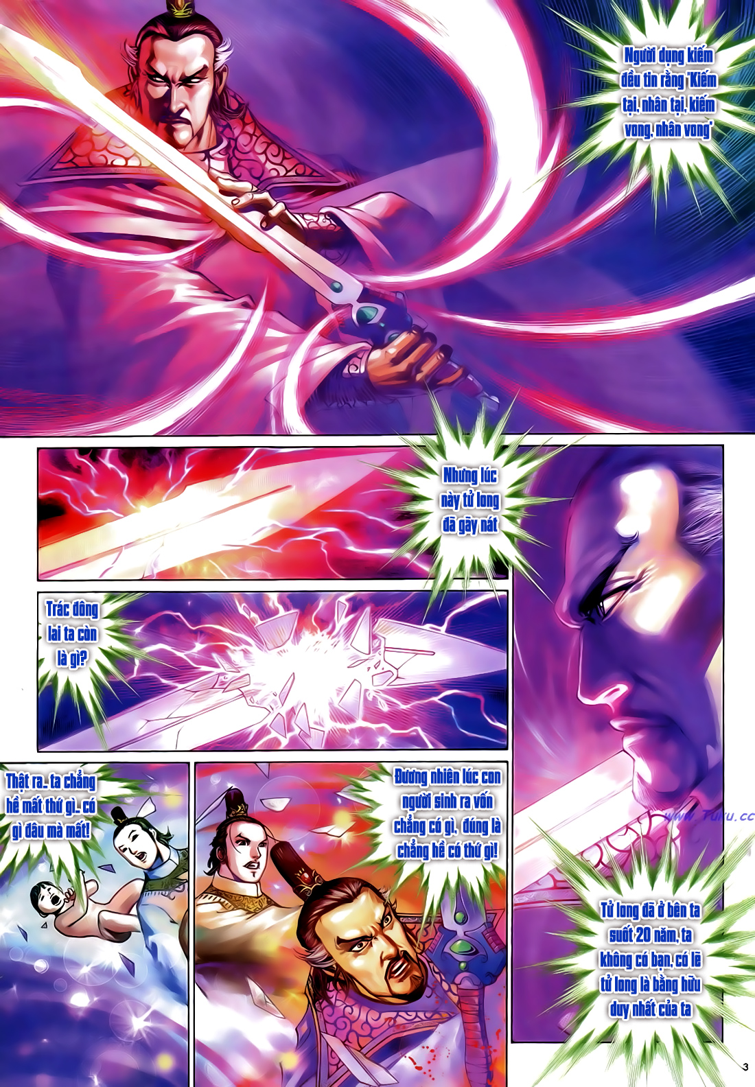 Anh hùng vô lệ Chap 29 trang 4
