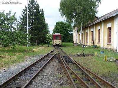 Wagony serii Btu na stacji Osoblaha