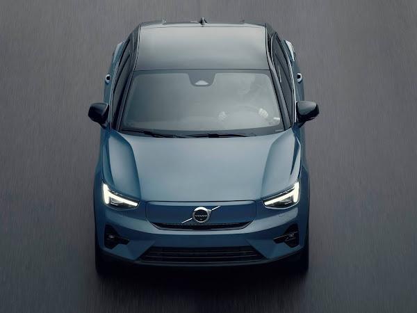 Volvo C40 elétrico chega para enfrentar VW ID.3 e Tesla Model 3