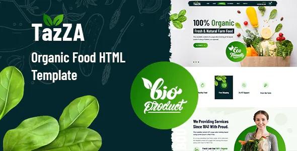 Best Organic Food Template