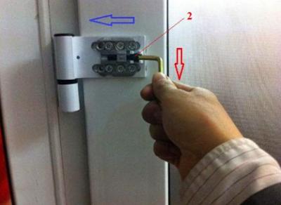 Cách sửa chữa xệ cánh cửa nhựa lõi thép