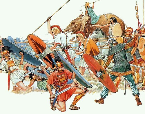 Các gamer thường cảm thấy không vui khi đc cầm Carthaginian