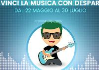Logo ''Vinci la musica con Despar'' : 400 biglietti per il concerto che preferisci
