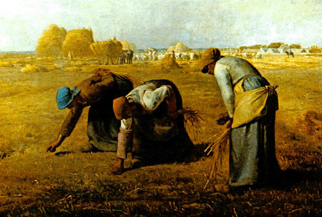 Жан Франсуа Милле - Сборщицы колосьев. 1857