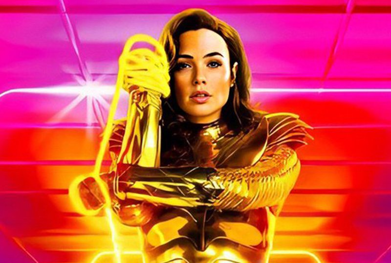 Wonder Woman 1984 New poster with Diana and the Lasso of Truth Hollywood News