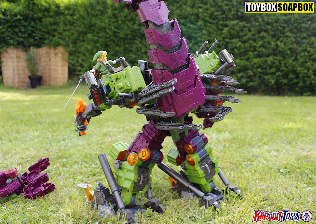 maketoys mcbo3 pandinus tail