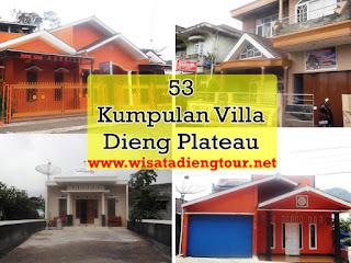 gambar villa-vila di dataran tinggi dieng