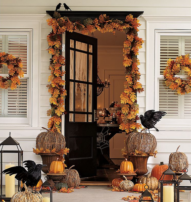 via pottery barn - Pottery Barn Halloween Decor