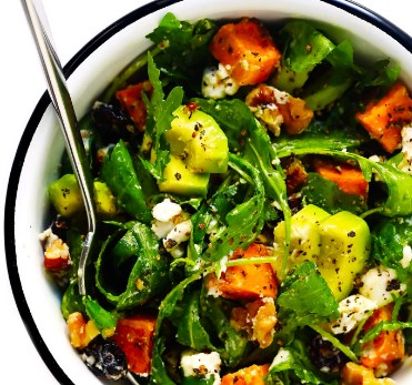 FEEL-GOOD FALL SALAD #vegetarian #glutenfree