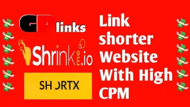 3 Link Shortener Website (WITH HIGH CPM)