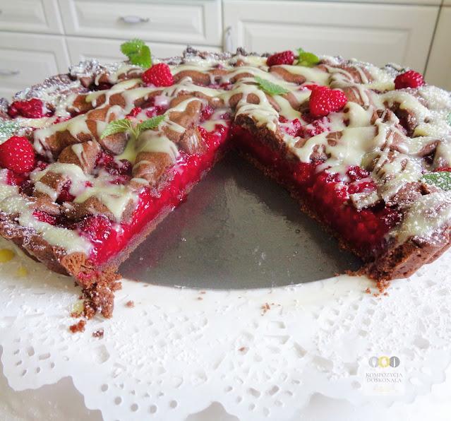 najlepszy przepis na pyszne ciasto z malinami