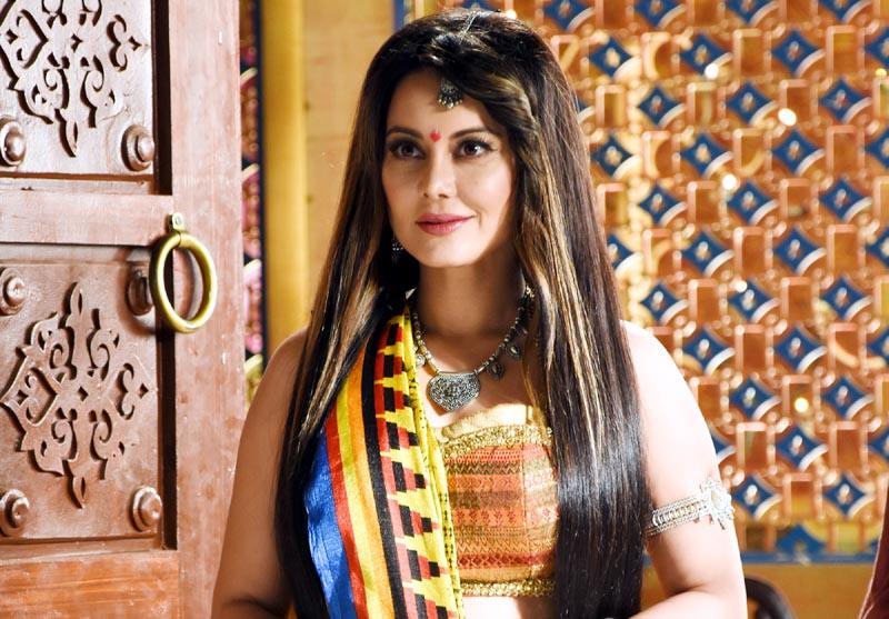 Minissha Lamba as Vishkanya in show Tenali Rama