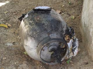 Vazamento em botijão de gás provoca incêndio em residência na cidade de Picuí