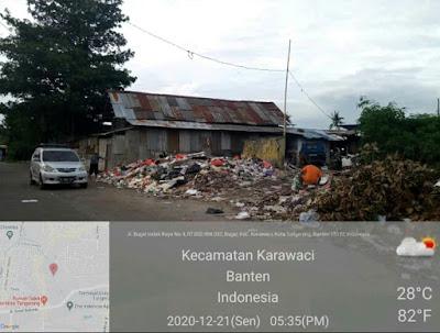 Rusaknya Bak Penampung dan Penumpukan Sampah Di Beberapa Wilayah Kota Tangerang