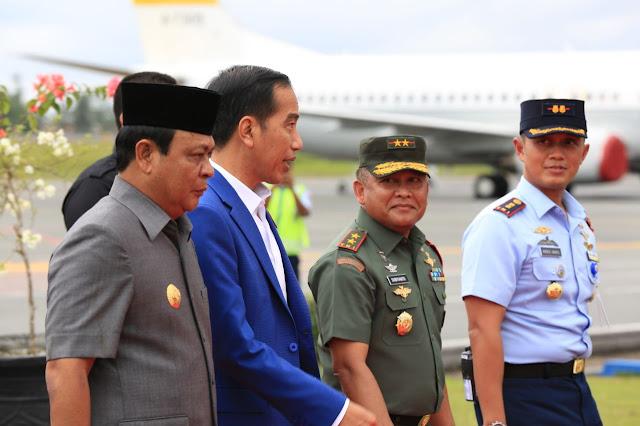 Agenda Kunjungan Kerja Presiden Jokowi di Kalsel