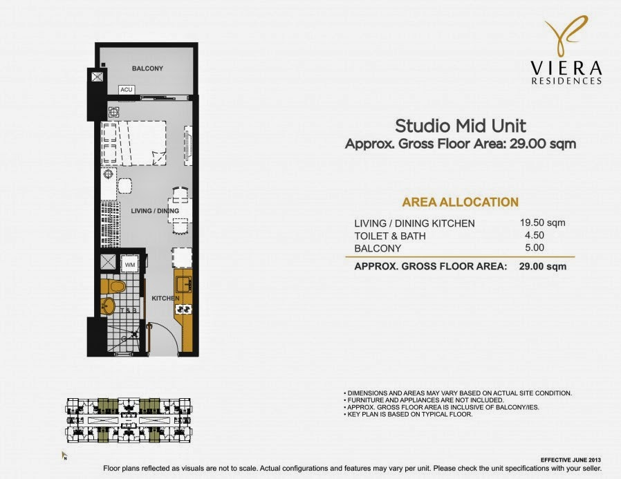 Viera Residences Studio Unit